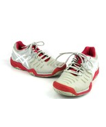 Asics Womens Gel Resolution 7 Tennis Shoes Gray And Pink Size 7 - $45.32