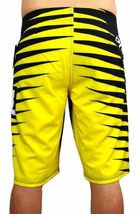 NEW DC SHOES MEN'S PREMIUM BOARD SHORTS SURF TRUNKS SWIMWEAR STRETCH YELLOW image 4