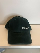 Vintage 90s Nike Strapback Hat, Green, Adjustable Size - $14.80