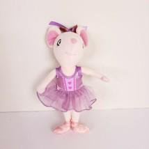 Angelina Ballerina Plush Pink Mouse Purple Tutu Madame Alexander Soft Do... - $18.59