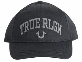 True Religion Men's Logo Cap Trucker Adjustable Baseball Hat Strapback TR2498 image 4