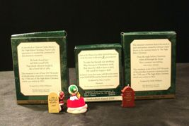 Hallmark Handcrafted Ornaments AA-191774A Collectible  ( 3 pieces ) image 5