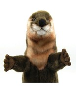 Otter Hand Puppet by Hansa True to Life Look Soft Plush Animal Learning ... - $56.99