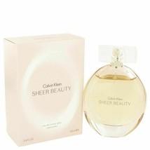 Perfume Sheer Beauty by Calvin Klein 3.4 oz Eau De Toilette Spray  for W... - $31.05