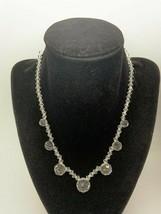 Vintage Natural Cristal14 Kt Gold Necklace  - $222.53