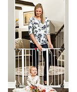 Regalo Easy Step 38.5-Inch Extra Wide Walk Thru Baby Gate, Bonus Kit, In... - $34.17