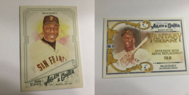 Two 2018 Topps Allen & Ginter MLB San Francisco Giants HOF Willie McCove... - $2.99
