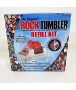 NEW Rock Tumbler Refill Kit -The Original - Precious Stones, Grit, Polish & Glue - $13.86