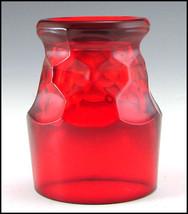 Paden City Ruby Red Georgian 9 oz Tumbler image 2