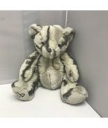 Dennis Basso Home Gray Marbled Teddy Bear Plush Stuffed Animal Collectib... - $39.99