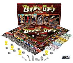 Zombie-Opoly Board Game Zombi Monopoly Family Fun Game - $29.99