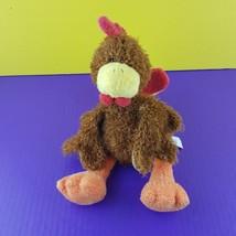 "Gund Plush Turkey 11"" Moca 30061 Stuffed Animal Bird Thanksgiving Fall B... - $18.81"