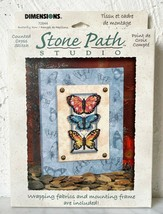 Dimensions Stone Path Studio Butterfly Row #72844 Counted Cross Stitch Kit - $16.10
