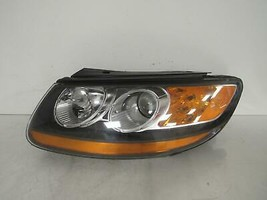 2008 2009 HYUNDAI SANTA FE LH DRIVER HEADLIGHT OEM D124L - $160.05