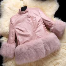 Parkas Quality Leather girls jacket - $76.99+