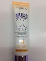 L'Oreal Paris Nude Magique CC Cream - 30 ml, Anti-Fatique  New - $12.95