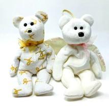 Ty Beanie Babies 2004 Lot of 2 Plush Bears Stuffed Animal Toys Signature... - $4.99