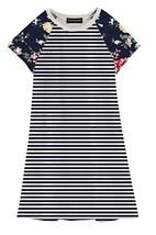 Funnycokid Comfy Loose Fit Pajamas Girls Printed Shirt Dresses 2-3T - $8.80