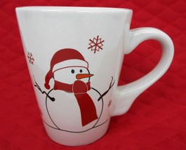 California Pantry Christmas Coffee Mug Holiday Snowman Cup Winter Hot Ch... - $269,53 MXN