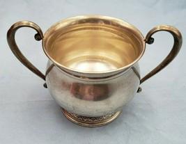 Vintage Prelude by International Sterling Silver Sugar Bowl #6898 - $149.00