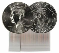 1996 P KENNEDY HALF DOLLAR ROLL CH BU 20 COINS - $24.95