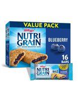 Kellogg's Nutri-Grain, Soft Baked Breakfast Bars, Blueberry, Variety Pac... - $10.00