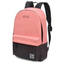 School Backpack Women Men Children Book Bag Travel Leisure Large Girls B... - $27.99