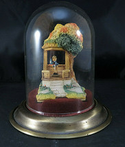 GoebelKINDER WAY & THE SOLITAIRE 1989 Glass Dome 962-D & 263-P Little W... - $200.00