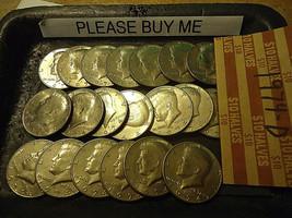 1974-D Kennedy Half Dollar Roll >> C/S & H - $15.84
