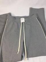 alternative apparel sweatpants men Gray Stretch Nordstorm Pin Striped Size S - $23.38
