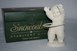 "Dept 56 Snowbabies Starlight Games ""Twist and Shout"" 56.69942 Figurine - $20.00"