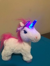 FUR REAL FRIENDS UNICORN STAR BEAM WALKING UNICORN PET HORSE FUR REAL 2012 - $17.35