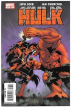 Hulk #17 VF 2008 Marvel Comics Early Red She-Hulk Loeb Churchill Avenger... - $4.94