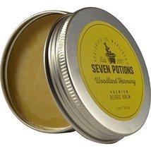 Seven Potions Beard Balm 2 oz. 100% Natural, Organic with Jojoba Oil. Makes Your image 2