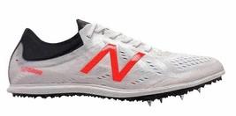 New Balance Men's mld5kwr5 White 4-Spike Track Shoe Sneaker Size 14, Ora... - $29.65