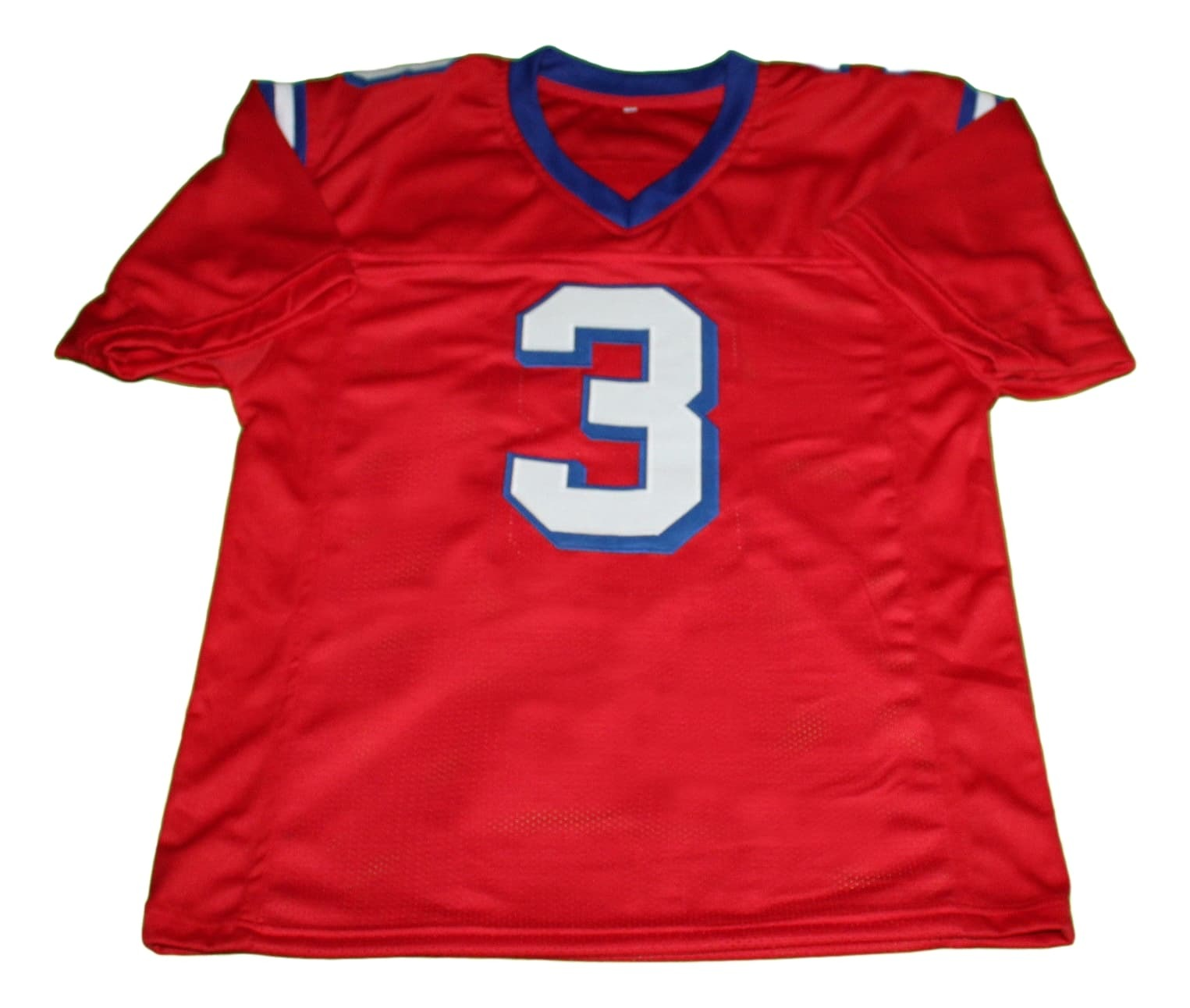 Nigel Gruff #3 The Replacement Movie New Men Football Jersey Red Any Size