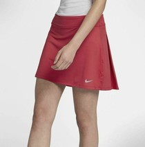 New Nike Golf Skort Tennis Skirt 884894-691 Women Medium Tropical Pink P... - $37.95