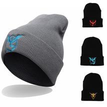 Pokemon Go Unisex Hat Men Women Hip-Hop Ski Beanie Cap Wool Knitted Winter Warm