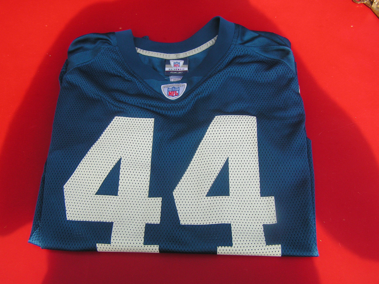 "Primary image for Indianapolis Colts ""Clark"" 44 Reebok NFL Players Equipment Men's XL Jersey"