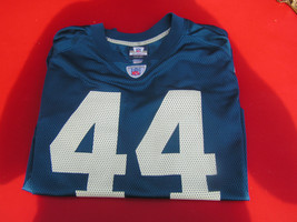 "Indianapolis Colts ""Clark"" 44 Reebok NFL Players Equipment Men's XL Jersey - $23.19"