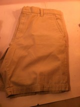 DOCKERS MENS SHORTS--SIZE 40--BEIGE-FREE SHIP-VGC - $13.73