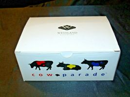 "Cows Parade  ""Tatooed Bovine"" # 9171 Westland Giftware AA-191865  Vintage Collec image 3"