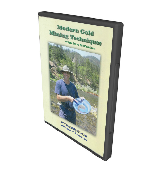 Modern Gold Mining Techniques - DVD ~ Gold Prospecting