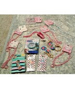 mixed Lot Jewelry Necklaces, friendship heart Bracelets Disney Frozen El... - $10.84