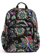 Vera Bradley Signature Cotton Campus Tech Backpack, Kiev Paisley