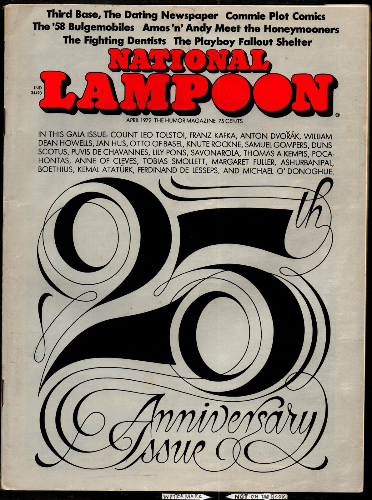 National Lampoon #25, April 1972 - 25th Anniversary issue