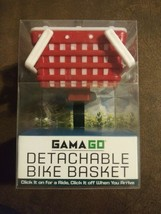 Novelty Mounting Picnic Basket Red White Bicycle Mounted Childrens Acces... - $14.89