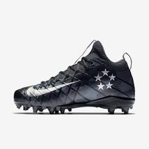 47af4df9537 Nike Alpha Field General Elite TD Football Cleats Men  39 s Size 10 Black