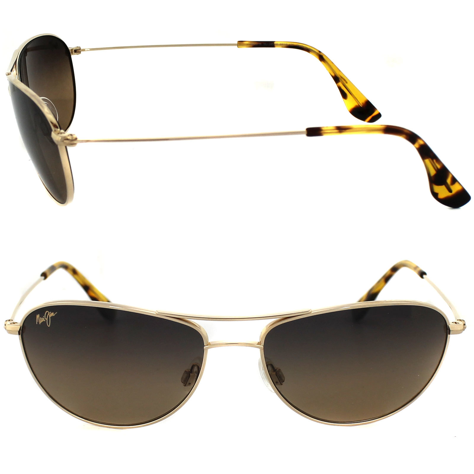 2bdbdc5807 Maui Jim HS245-16 Baby Beach Polarized Aviator Sunglasses - £154.12 GBP