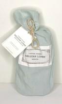 Restoration Hardware Vintage-Washed Belgian Linen Lumbar Sham Light Silver Sage - $29.99